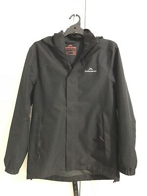 Kathmandu Men Ngx2 Waterproof Hooded Jacket Black