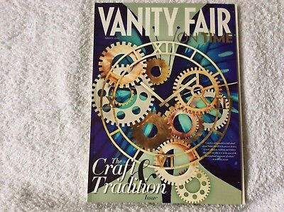 VANITY FAIR on time the Craft and Tradition issue 2011 spring