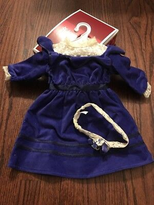 American Girl Samantha's Velvet Dress