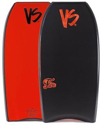 VS BODYBOARDS Flow In Black/Red PE Core Bodyboard 17/18 Model
