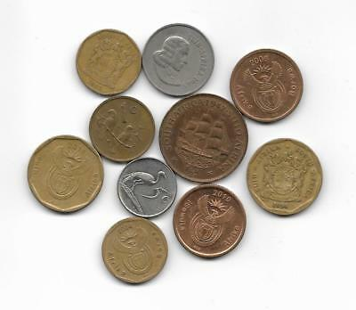 Lote monedas  SOUTH AFRICA  / Lot  coins
