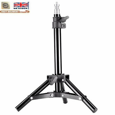 UK Mini Black Light Stand for Video Portrait and Product Photography New