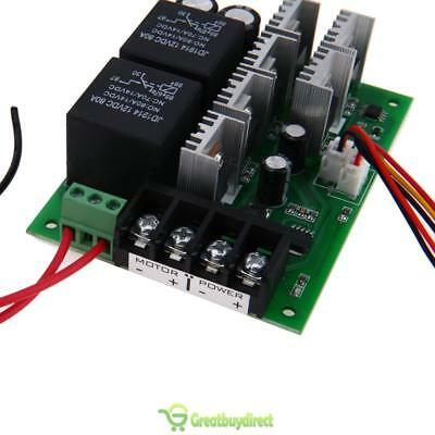 2000W DC10V~50V 40A PWM Motor Speed Controller CW CCW Reversible Switch UK