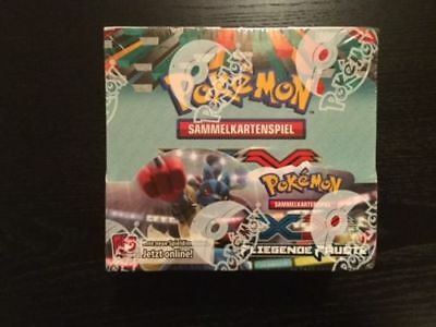Pokemon OVP Display XY Fliegende Fäuste Booster Box!