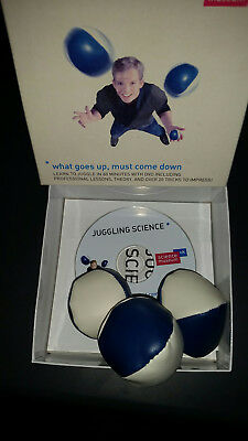 Set of Juggling Balls complete with DVD instructional