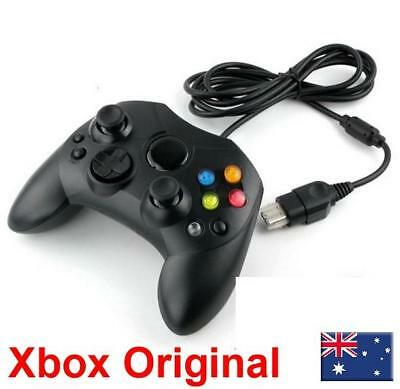 Dual Shock Black Wired Game Pad Controller For Microsoft Original Xbox NEW!
