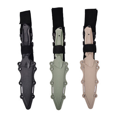 Rubber Training Knife Airsoft. tactical with belt attachment point