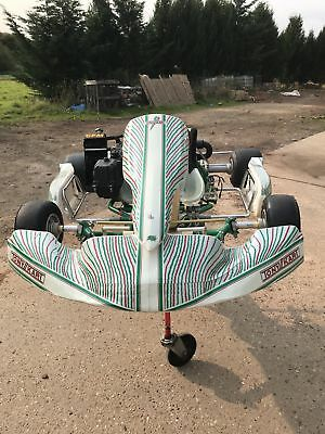 Tony Kart 401 chassis with rotax max engine