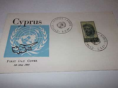Cyprus First Day Cover - May 1964