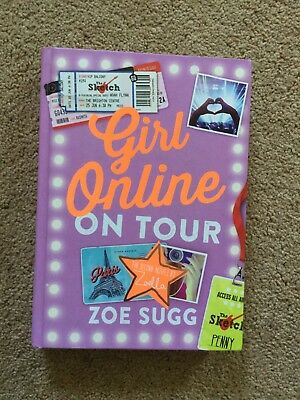 Zoella - Girl Online On Tour by Zoe Sugg Book No.2 RRP £12.99