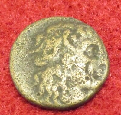 Unidentified Ancient Bronze Coin Egypt Ptolemy?