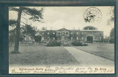 Hillsborough Castle, Hillsborough, County Down. Printed, 1905.