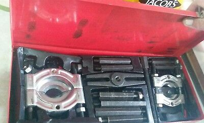 Pulley Removal Kit Bearing Splitter Gear Puller  In Red Tin