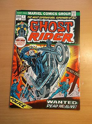 Marvel: Ghost Rider #1, 1St Series/solo Book, Key Book, 1973, Nm- (9.2)!!!