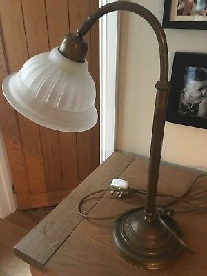 antique Art Deco Lamp Light
