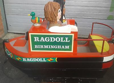 Coin Operated Rosie and Jim Children's Ride