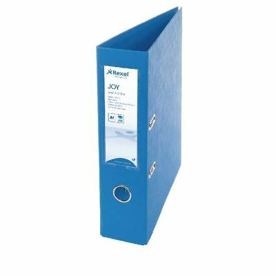 Rexel Joy Blue A4 Lever Arch File (Pack of 6) 2104011 [RX42331]