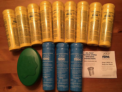 FREE 2-3 DAY SHIPPING Spa Frog Kit 12 pack-9 Bromine & 3 Mineral  FAST SHIP!