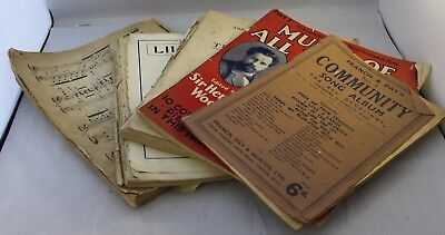 Bundle of Vintage Music Books ##WEL47SE