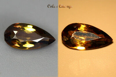 1.100 Ct  Earth Mined Unique Dazzling 100% Natural Dancing' Color Change Axinite