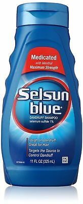 Selsun Blue Medicated Maximum Strength Dandruff Shampoo 325ml