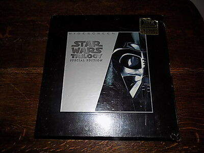 Star Wars Trillogy~Special Edition~ Widescreen~Lazerdisc~ 1977~unopened~sealed