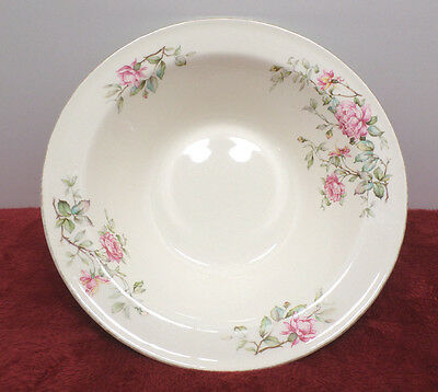 Edwin Knowles Vegetable Bowl Pink Rose Design