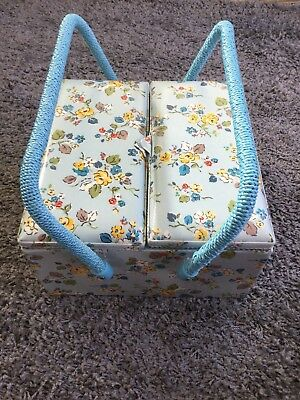 Cath Kidston sewing box with Sew book both new and unused.