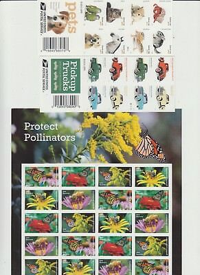 100 USPS Forever Stamps - $49.00 FACE - NEW Mixed Sheets as Shown 1017-101