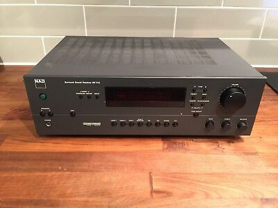 NAD AV-713  Surround Sound Receiver Amplifier Phono Stage
