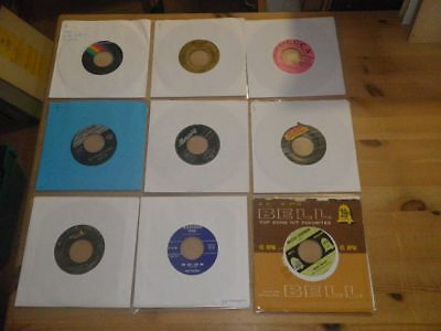 """ROCKABILLY, BLUES, N.SOUL,  etc, LOT with 9 Different 7"""" SINGLES, #37"""