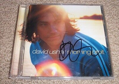 DAVID USHER - MORNING ORBIT CD *AUTOGRAPHED* Signed Moist Lead Vocalist