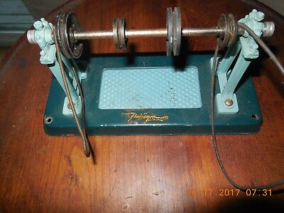 vintage Fleischmann Made In West Germany steam engine accessory , 4 wheel Pulley