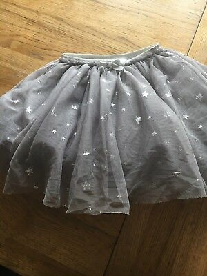 Baby Girls Signature Next grey/silver tutu skirt age 12-18months