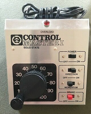 Mrc Control Master 1 Transformer For Ho Or N Scale.