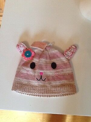 Girls Rabbit Hat Monsoon/angels Age 7-12 Bnwt Rrp £10