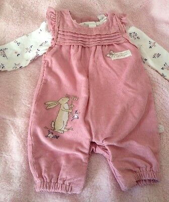 Guess How Much I Love You Tu Up To 1 Month Newborn Baby Girl 2 Piece Outfit