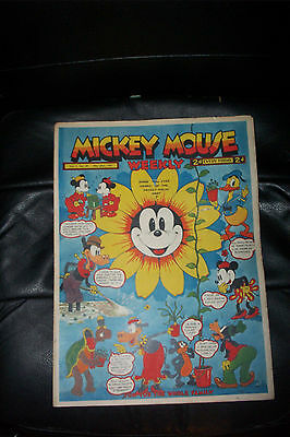 1936 DISNEY SERIES ORIGINAL MICKEY MOUSE PLATINUM COMIC Vol 2 MAY29th 1937 No69