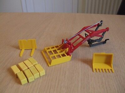Britains Farm tractor front loader