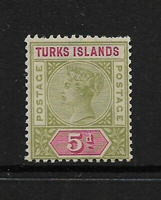Turks and Caicos Islands 1893 Mint Stamps