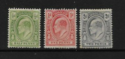Turks and Caicos Islands 1909 Mint Stamps