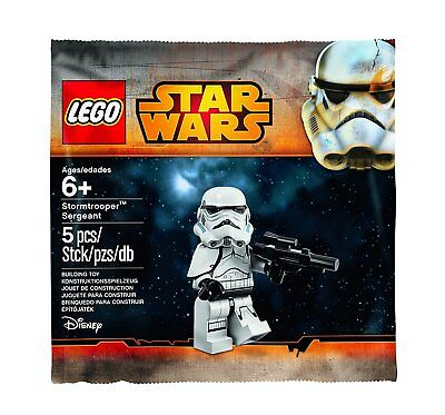 Lego Stormtrooper Sergeant Minifigure Polybag 5002938 New Sealed