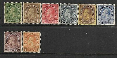 Turks and Caicos Islands 1928 Mint Stamps