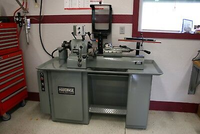 Hardinge DSM-59 Turret Lathe with dovetail bed PRECISION NICE