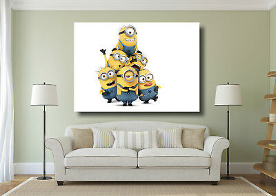 Antiquitäten & Kunst Kunst Despicable Me Minions Movie Poster Large Wall Art Print A0 A1 A2 A3 A4