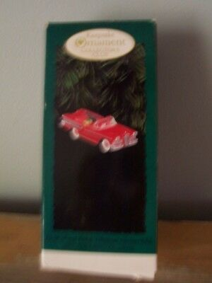 1995 Hallmark Christmas Ornament - 1958 Ford Edsel Citation Convertible - In Box