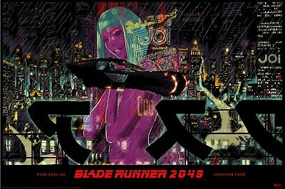 NYCC Blade Runner 2049 poster by Raid71 lithograph print bottleneck gallery