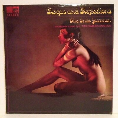 THE INDO JAZZMEN Ragas And Reflections UK SAGA LP - STFID 2145