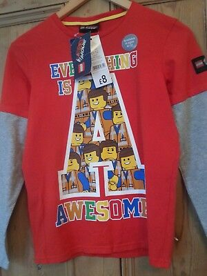 lego movie tshirt aged 11-12 years new with tags