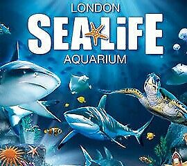 SEALIFE London x 4 Tickets Tuesday 31st October